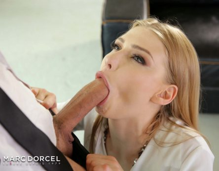 LUCY HEART IS A DOCILE SECRETARY - Dorcel French Porn